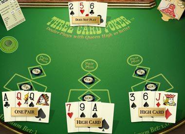 Casino three card poker game free casino video slots